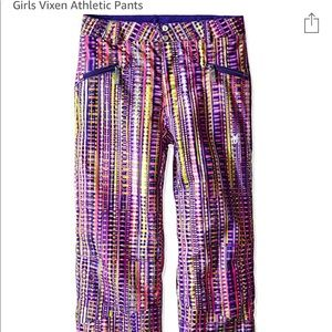 "Spyder Girls Vixen Athletics Ski Pants. Length 38"""